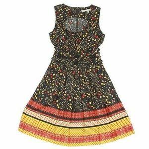 Rachel Roy prairie floral pocket rope waist zip 8